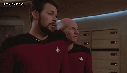 #ThingsNeverSaidOnStarTrek Picard to Riker: Number One, do you need to...