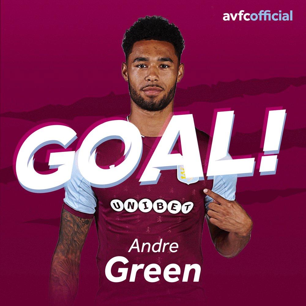 GOAL! GOAL! GOAL! Andre Green!!! ❤️️ it! 2-0!  #PartOfThePride #AVFC h...