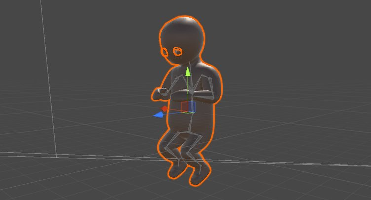 #unity3d humanoid muscles are fun #rigging #gamedev
