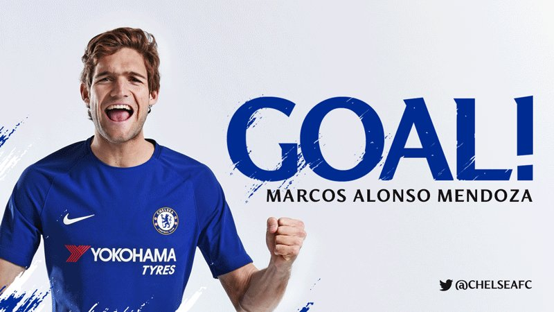 GOAL! WHAT A STRIKE MARCOS! #TOTCHE https://t.co/s5P5gG2HTl