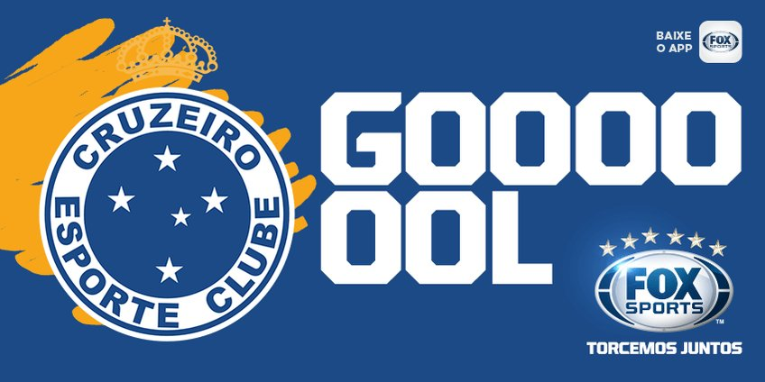 GOOOOOL! É do Cruzeiro! Raniel amplia para a equipe celeste!   Cruzeir...