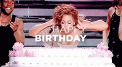 Happy Birthday to the icon, the legend, the cake eater, the one and only Queen B!
