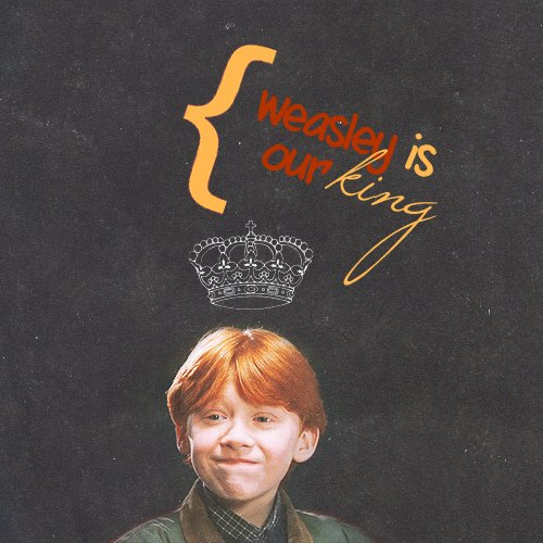 To everyone\s favorite Weasley: Happy birthday Rupert Grint!