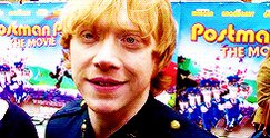 Happy Birthday to Rupert Grint, who portrayed Ronald Weasley in the movies!