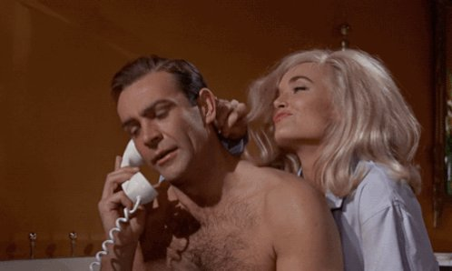 May I speak with Connery, Sean Connery?  Happy birthday, Sir!