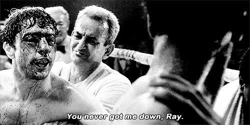 """You never got me down Floyd."" #MayweatherMcGregor https://t.co/tZX5TC9aUB"