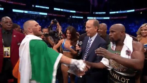 Nothing but respect! #MayweatherMcGregor https://t.co/E6o1MZKN8q