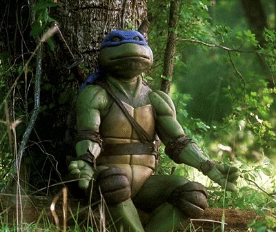 I\m feeling your ZEN! Happy Birthday Leonardo was chosen for a reason. **Healing Hands**