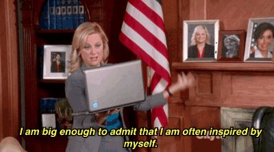 Happy Birthday, Amy Poehler. You are the Leslie Knope to my Leslie Knope