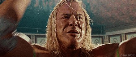 Happy Birthday to one of my favorite actors Mickey Rourke