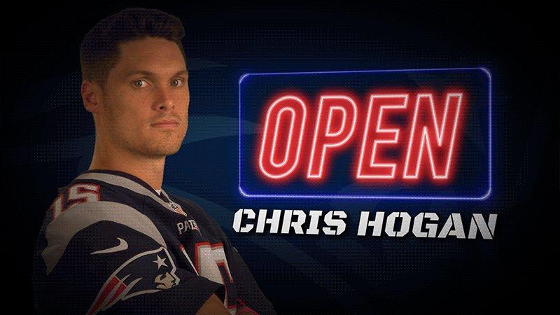 .@ChrisHogan_15: always open.   Touchdown, #Patriots! #GoPats https://...