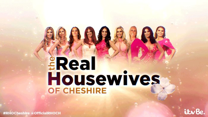 RT @OfficialRHOCH: 3 - 2 - 1 - aaaaand action! 💥 #RHOCheshire is on @ITVBe right now! https://t.co/WszXz4FdbI