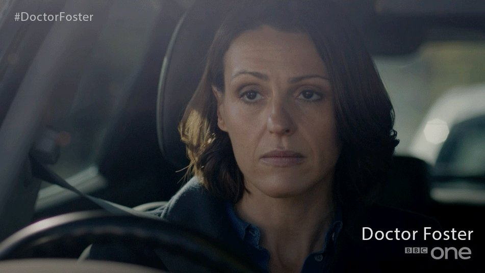 RT @BBCOne: @MariaFowler She's back, Maria! And her levels of sass are off the charts... #DoctorFoster https://t.co/xFBOUkmJlu
