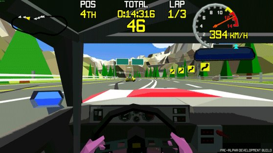 Get behind the wheel and play our Racing Apex demo at #EGX next week! #indiedevhour #indiedev #gamedev #lowpoly #madewithunity #RETROGAMING https://t.co/rM9xbIC6Bf