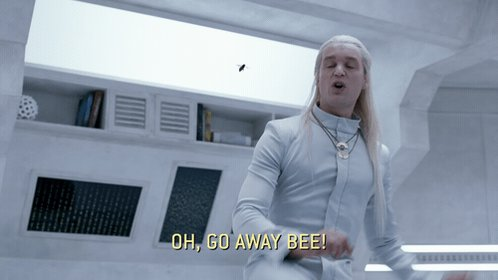 The bee is STILL on the ship. See if you can spot it TONIGHT at 10:30/...