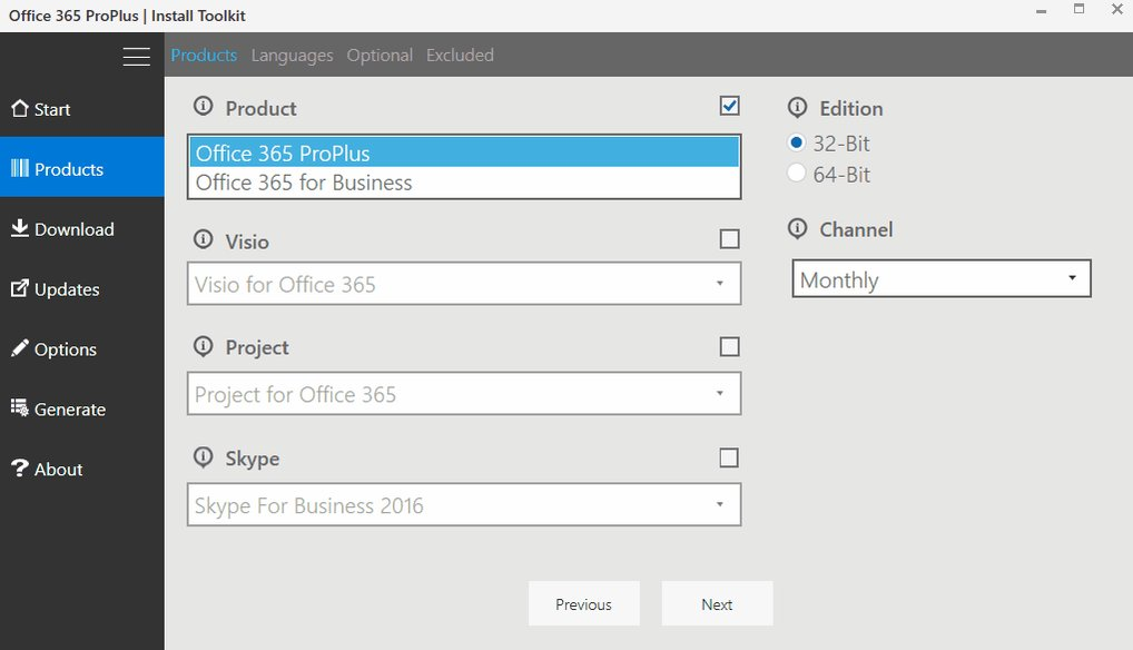 #Office365 ProPlus Install Toolkit updated with new channel names, making configuring deployments even easier #Office2016