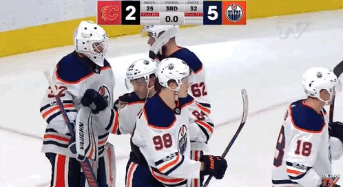 Two games, two wins. 💪 #BattleOfAlberta https://t.co/TZaAQ3gs2l