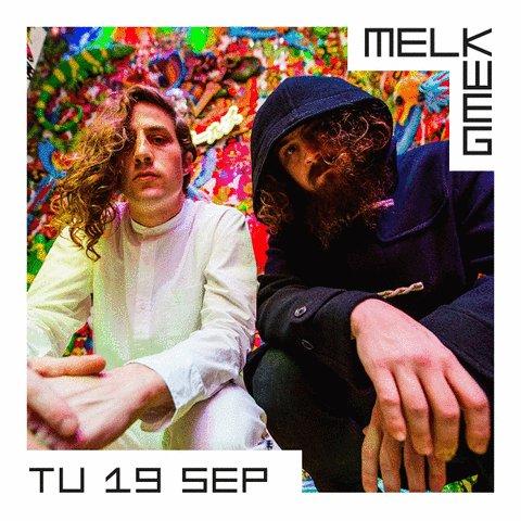 Vanavond in de Melkweg: Hippie Sabotage, Dylan van Vliet en Techno Tuesday! Vanaf 19.00: https://t.co/hPqT9pM90W