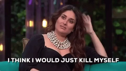 *When someone asks me how was your exam*  Happy Birthday Kareena Kapoor