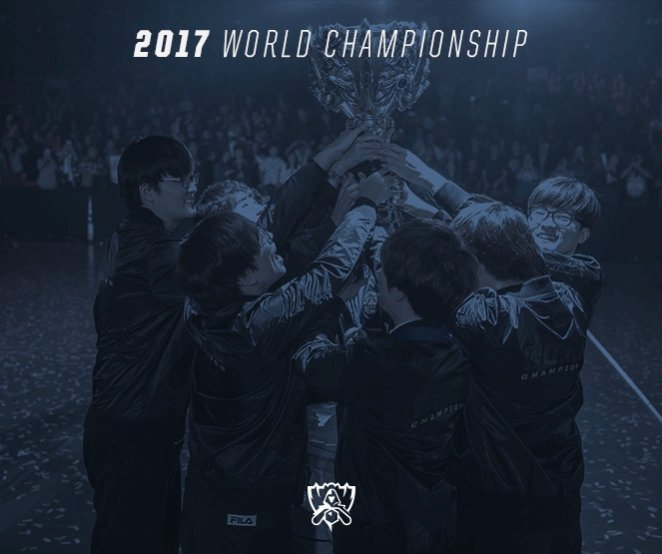 One Hour #Worlds2017 https://t.co/UoQbBOkijL
