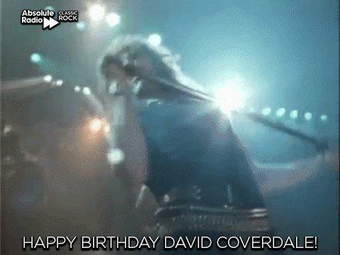 Happy birthday to the legendary voice - David Coverdale!
