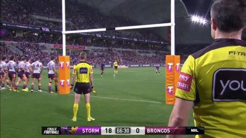 That's 1,000 Premiership goals for @CamSmith9!  #NRLStormBroncos   #NR...