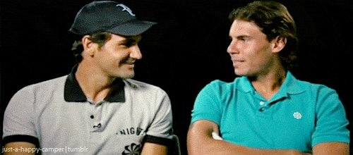 @LaverCup @RafaelNadal @rogerfederer The Bromance between these two Adore them both https://t.co/cvEUP4Z8er