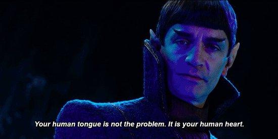 Logic must override emotion. #StarTrekDiscovery https://t.co/GLQcnzVZu...