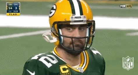 'Aaron Rodgers has never won a game in OT' https://t.co/NK2YzuPlKW