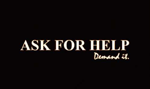 #MyTipsForMentalHealth - Ask for help. Demand it! https://t.co/49YMC10...
