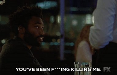 Happy birthday to my role model Donald Glover/ Childish Gambino. I love you and everything you do.