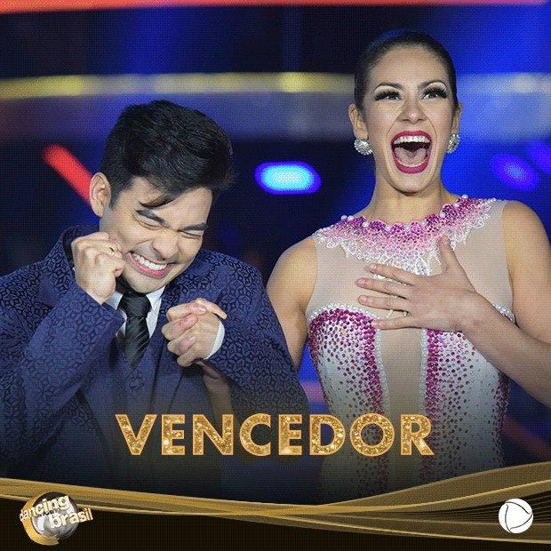 Com 80,70% dos votos, @YudiTamashiiro é o grande vencedor do #DancingB...