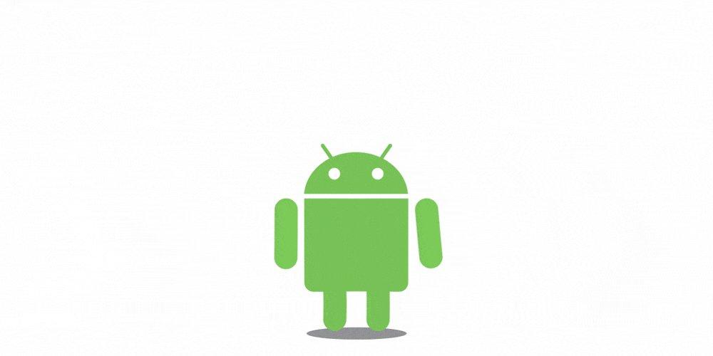 Андроид гифка на русском, самый