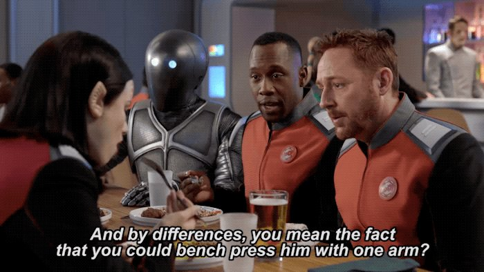 Pretty much. 😂 #TheOrville https://t.co/...