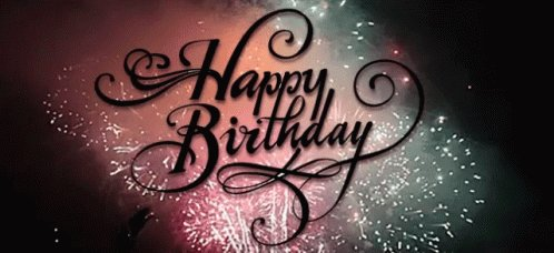 happy birthday, hope you have a wonderful day.