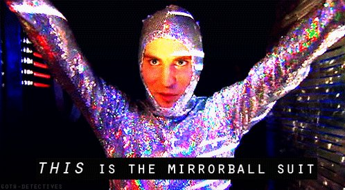 I lost my Mirrorball suit. #life  #Weird...