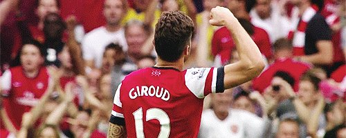 Happy birthday to the greatest French striker in the Premier League 2017/2018 season, Olivier Giroud.