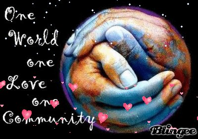 MRT @KariJoys #quote One world, One #Love! #JoyTrain #Joy #Peace #BeLove #Oneness #Unity RT @LantermozRory