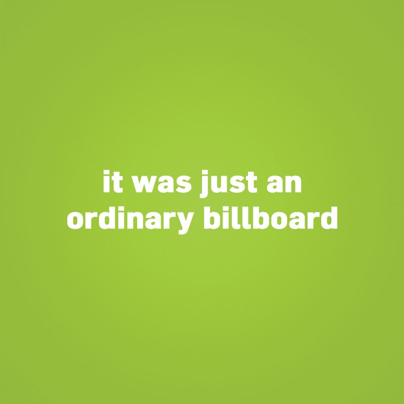 kulula billboard defaced! Watch for the unexpected twist at the end! https://t.co/FttCwwVQNr