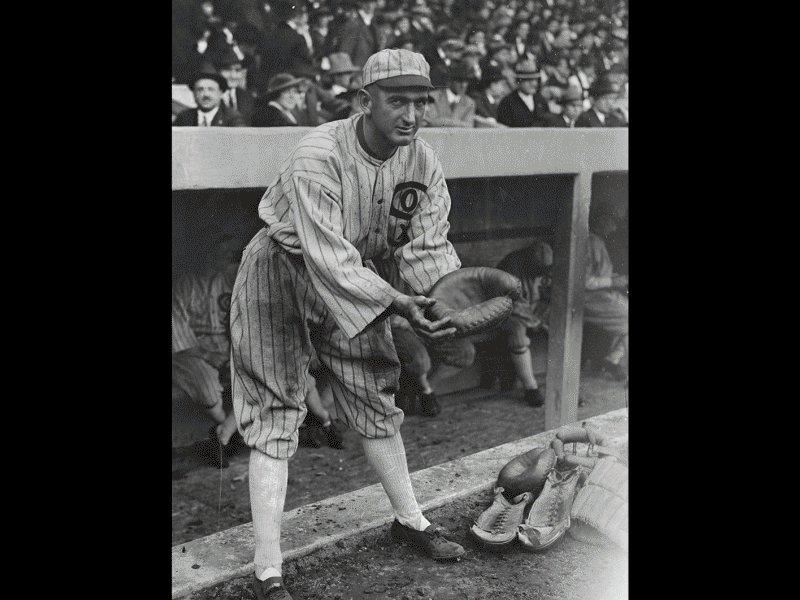 the involvement of joe jackson in the black soxs scandal of 1919 Banned from professional baseball by kennesaw mountain landis for alleged involvement in the black sox scandal of 1919, a 44 year old shoeless joe jackson plays with the semi pro greenville spinners, circa 1932.