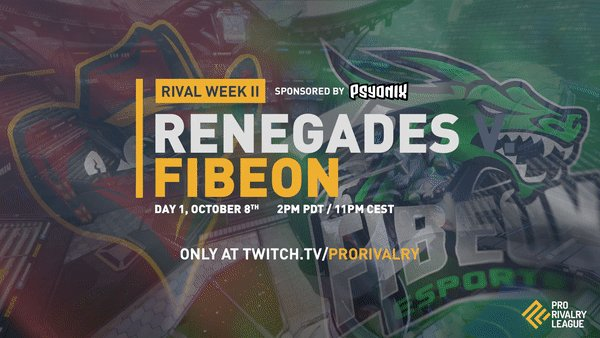 Image result for renegades v fibeon Rivalry week