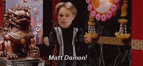 Happy birthday Matt Damon