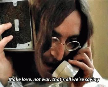 Happy Birthday John Lennon. Genius, Visionary, Man.