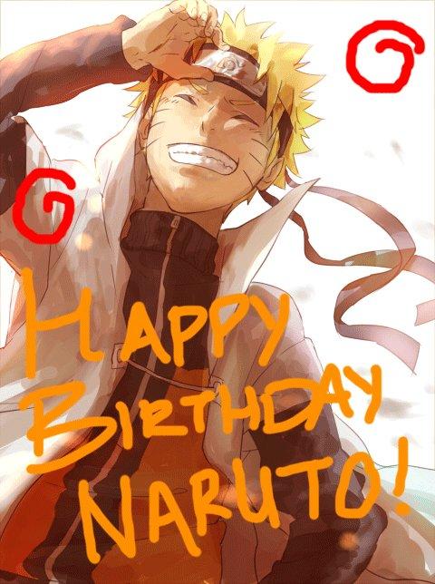 Happy Birthday to the one and only Naruto Uzumaki