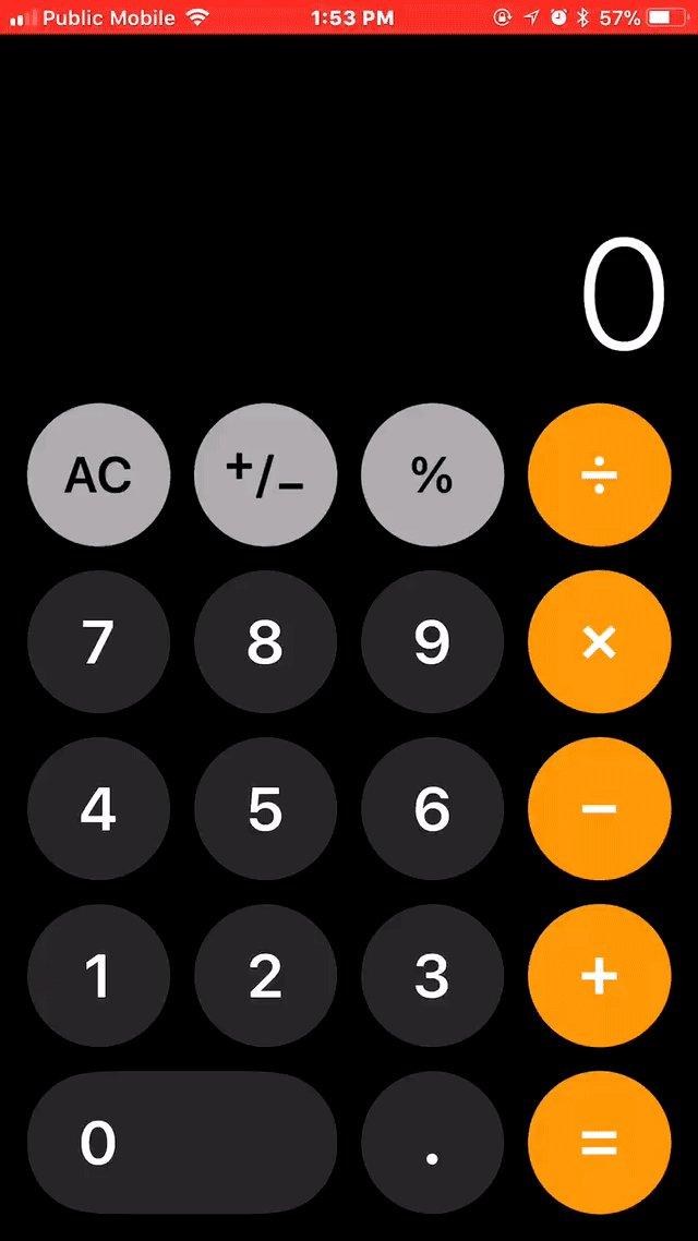"""据说 iOS 11 计算器快速输入 1+2+3 = 24 BUG 的原因是:计算器按键加了动画、动画太慢、""""+""""被忽略掉了。这就是让平面设计师、视觉设计师做 UX 设计的恶果 https://t.co/sulSwCmFPH 1"""