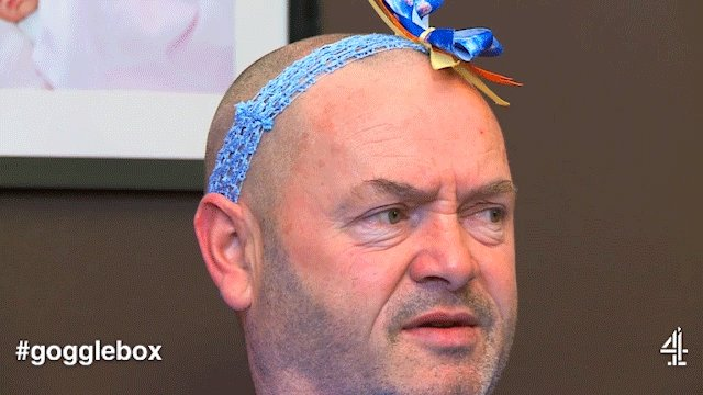 Headband goals #Gogglebox https://t.co/Y...