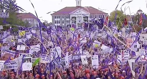 RT @CollegeGameDay: JMU was ready for GameDay. https://t.co/j8PLbsC2ZH