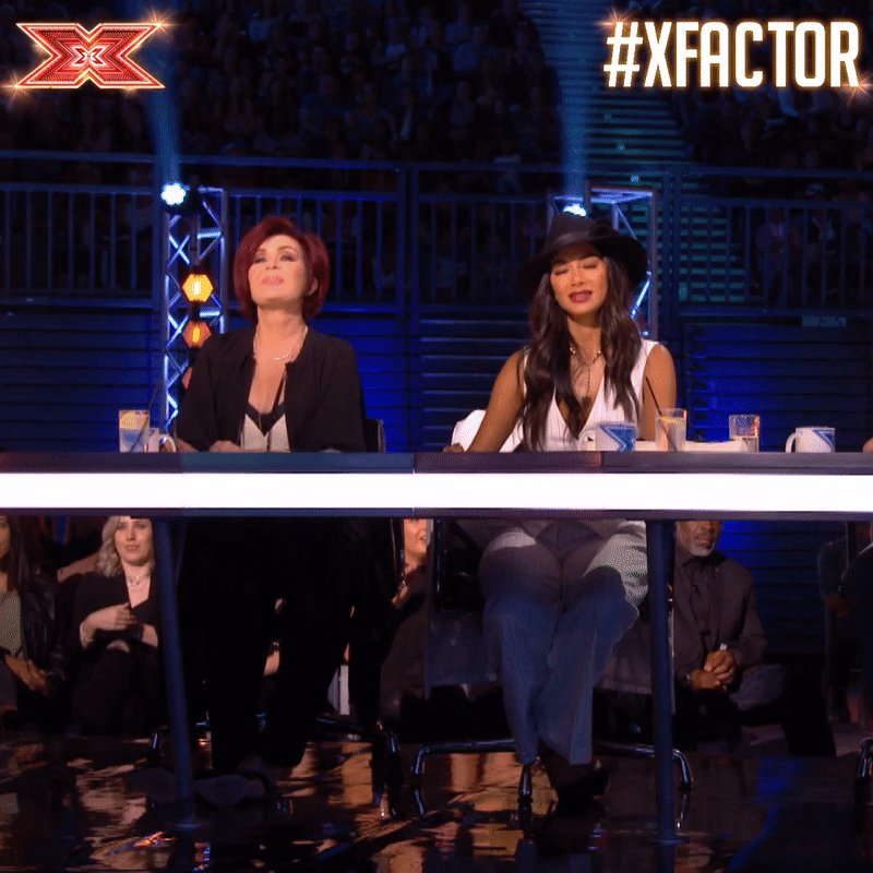 YAS! 🌭 #SausageRolls #SixChairChallenge #XFactor https://t.co/SqClGXHp3k