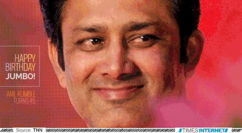 WISHING A VERY HAPPY BIRTHDAY TO THE GREATEST MATCH WINNER OF INDIA  ANIL KUMBLE