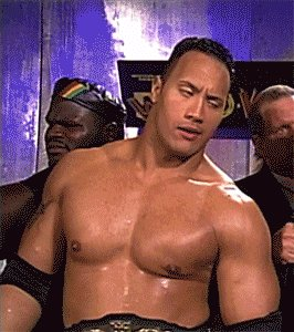 Pro tip: Never tell The Rock that wrestling isn't real 😂